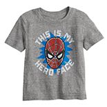 "Toddler Boy Jumping Beans® Spider-Man ""This Is My Hero Face"" Tee"
