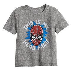 b781b04242b1 Toddler Boy Jumping Beans® Spider-Man  This Is My Hero Face  Tee