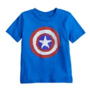 Toddler Boy Jumping Beans® Marvel Captain America Logo Graphic Tee