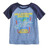 Toddler Boy Jumping Beans® Star Wars Millennium Falcon Raglan Tee