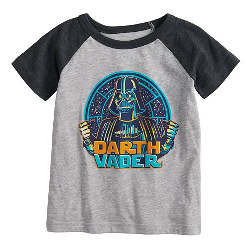 Toddler Boy Jumping Beans® Star Wars Darth Vader Raglan Graphic Tee