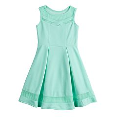 Girls 7-16 Bonnie Jean Textured Fit & Flare Dress