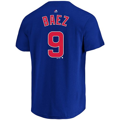 Big & Tall Majestic Chicago Cubs Javier Baez Graphic Tee