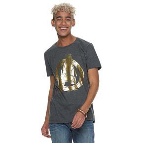 Men's Avengers Gold Logo T-Shirt