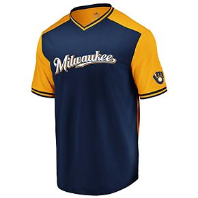 Big & Tall Milwaukee Brewers Good Graces Jersey