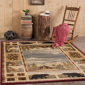 KHL Rugs Lakeside Retreat Lodge Indoor Area Rug