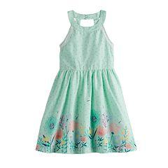 Girls 4-12 SONOMA Goods for Life™ Print Halter Dress