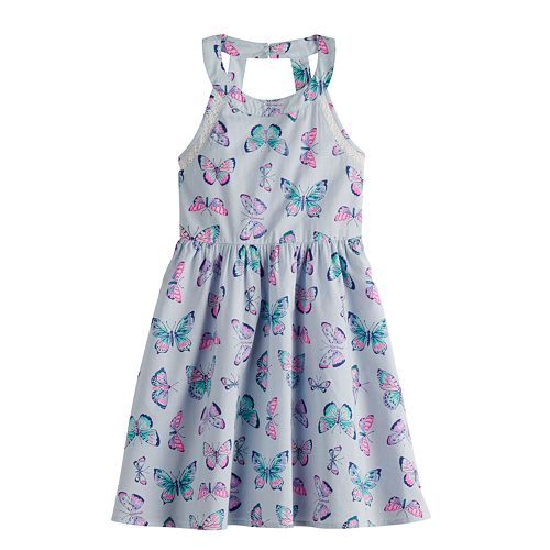 Girls 4-12 SONOMA Goods for Life™ Print Halter Dress