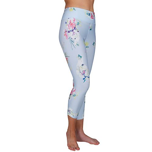 Women's Jockey Sport Floral Pattern Getaway Capri Legging