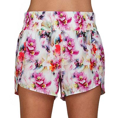 Women's Jockey Sport Flower Bomb Printed Running Shorts