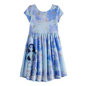 Disney's Moana Girls 4-12 Print Skater Dress by Jumping Beans®