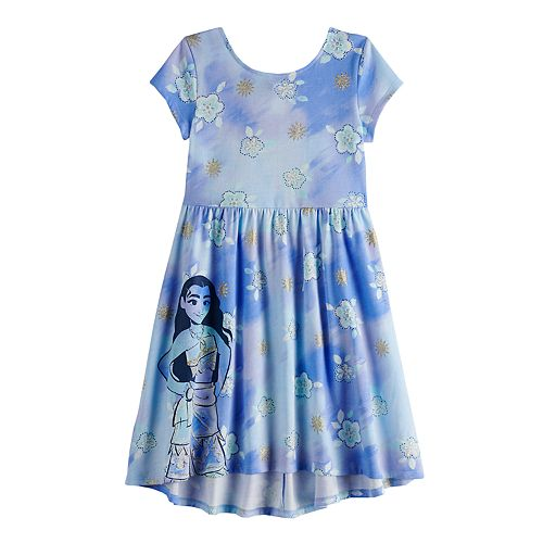 Disney's Moana Girls 4-12 Print Skater Dress by Jumping Beans®