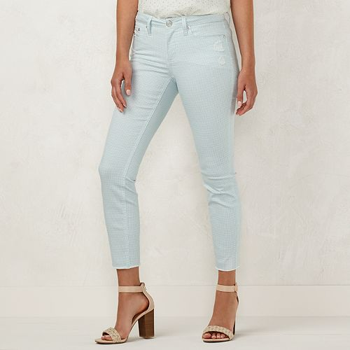 Women's LC Lauren Conrad Feel Good Skinny Ankle Jeans