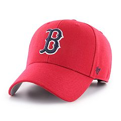 2aa945fd10adc Men s  47 Brand Boston Red Sox MVP Baseball Cap. Rsx Gray Rsx Black ...