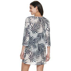 Women's Apt. 9® Palm Print Tunic Cover Up