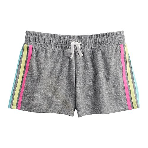 Girls 7-16 SO® Side Stripe Shorts