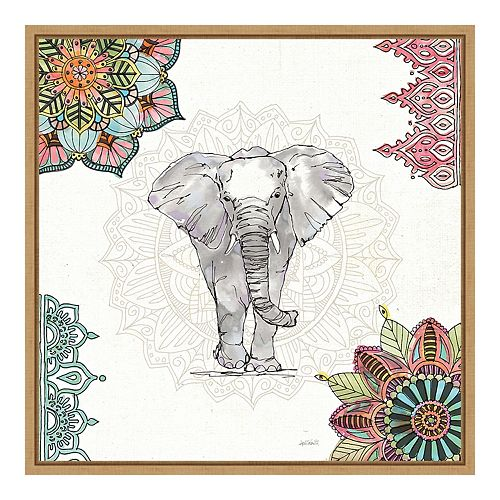 Amanti Art Mandala Morning I Framed Wall Art