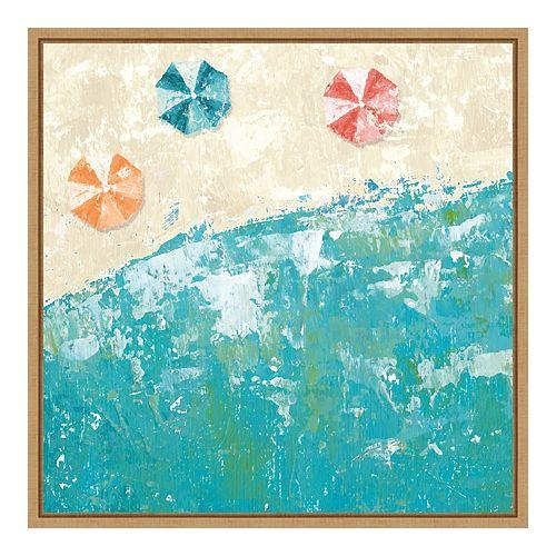 Amanti Art Beach Days Framed Wall Art