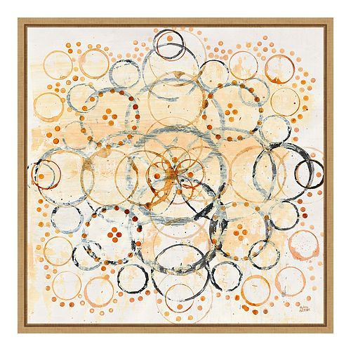Amanti Art Henna Mandala II Crop Framed Wall Art