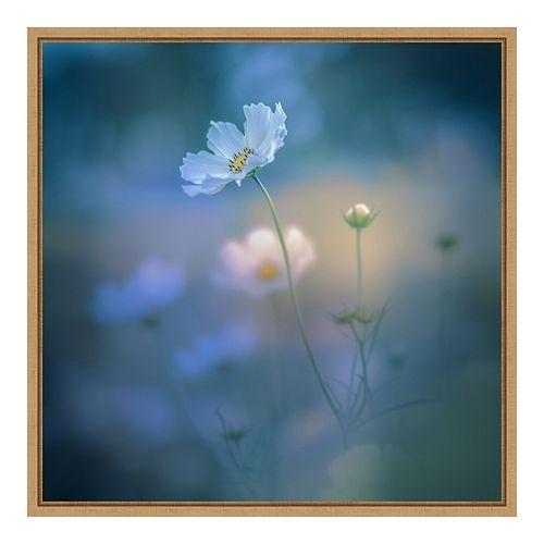 Amanti Art Framed 'White Shadow' by Miyako Koumura Wall Art