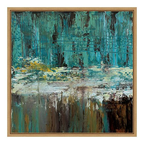 Amanti Art Framed 'Deep Waters I' by Jack Roth