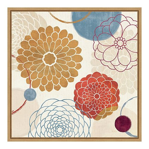 Amanti ArtFramed 'Abstract Bouquet II' by Veronique Charron Wall Art