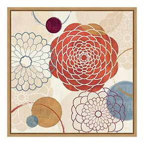 Amanti Art Framed 'Abstract Bouquet I' by Veronique Charron Wall Art