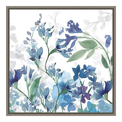Amanti Art Framed Canvas Colors of the Garden III Cool Shadows by Wild Apple Portfolio