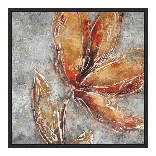 Amanti Art 'Ashanti II (Floral)' by Adam Rogers Framed Canvas Art
