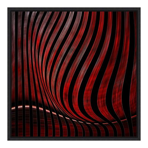 Amanti Art Framed 'Optic Illusion' by Gilbert Claes Wall Art