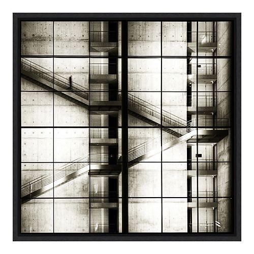 Amanti Art Framed 'Stairways' by Mario Benz Wall Art