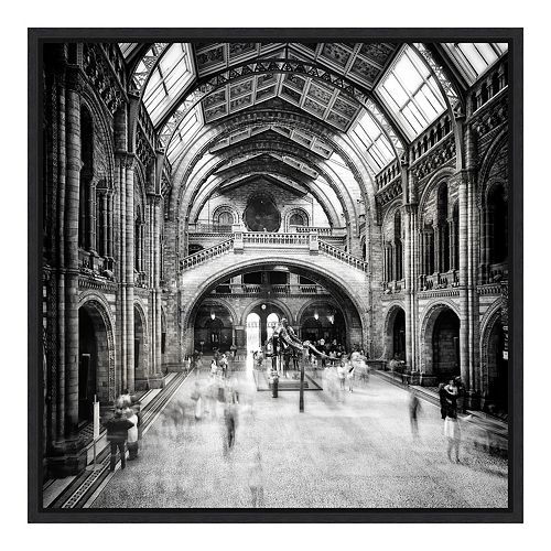 Amanti Art Framed 'Natural History Museum of London' by Santiago Pascual Buye Wall Art