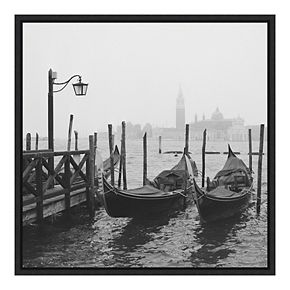 Amanti Art Framed 'Morning in Venice' by Yuppidu Wall Art