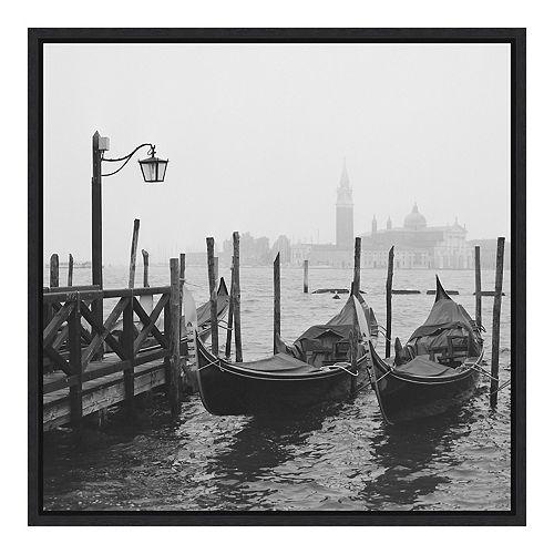 Amanti Art Framed 'Morning in Venice' by Yuppidu Wall Art
