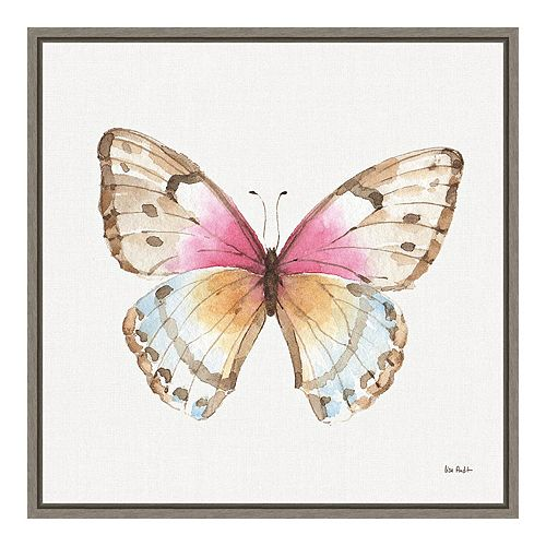 Amanti Art Colorful Breeze XI (Butterfly) Canvas Wall Art
