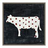 Amanti Art Modern Americana Farm IV Framed Canvas Art