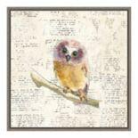 Amanti Art Into the Woods II no Border (Owl) Canvas Wall Art
