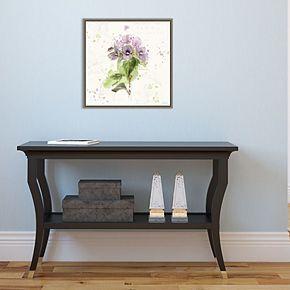 Amanti Art Floral Splash III Canvas Art Framed