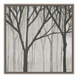 Amanti Art Spring Trees Greystone III Canvas Framed Art