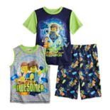 Boys 4-10 Lego Movie 2 3-Piece Pajama Set