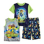 Boys 4-10 Lego Movie 2 3-Piece Pajama Set