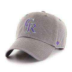 pretty nice 1f242 b82bb Men s  47 Brand Colorado Rockies Clean-Up Baseball Cap. Rck Purple Rck Gray