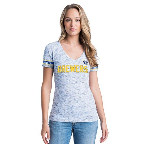 Women's New Era Milwaukee Brewers Tee