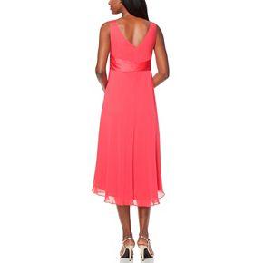 Women's Chaps Surplice Midi Dress