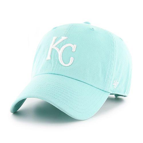 Women's '47 Brand Kansas City Royals Tiffany Clean Up Adjustable Hat