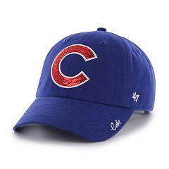 '47 Brand Women's Chicago Cubs Sparkle Sequin Baseball Cap