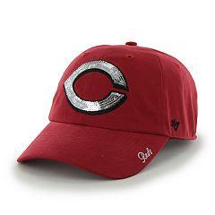 '47 Brand Women's Cincinnati Reds Sparkle Sequin Baseball Cap