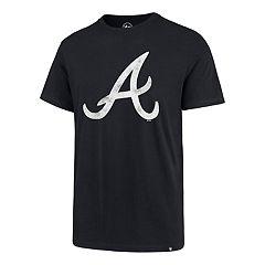 Men's '47 Brand Atlanta Braves Imprint Super Rival Tee