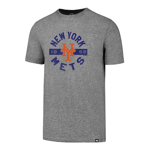 Men's '47 Brand New York Mets Rival Round About Tee