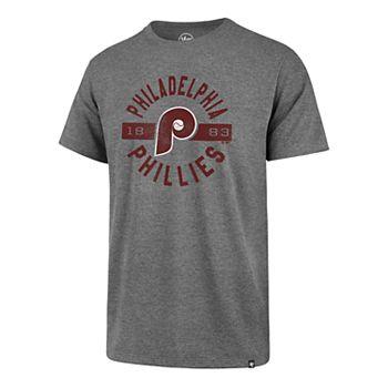 Men's '47 Brand Philadelphia Phillies Rival Round About Tee